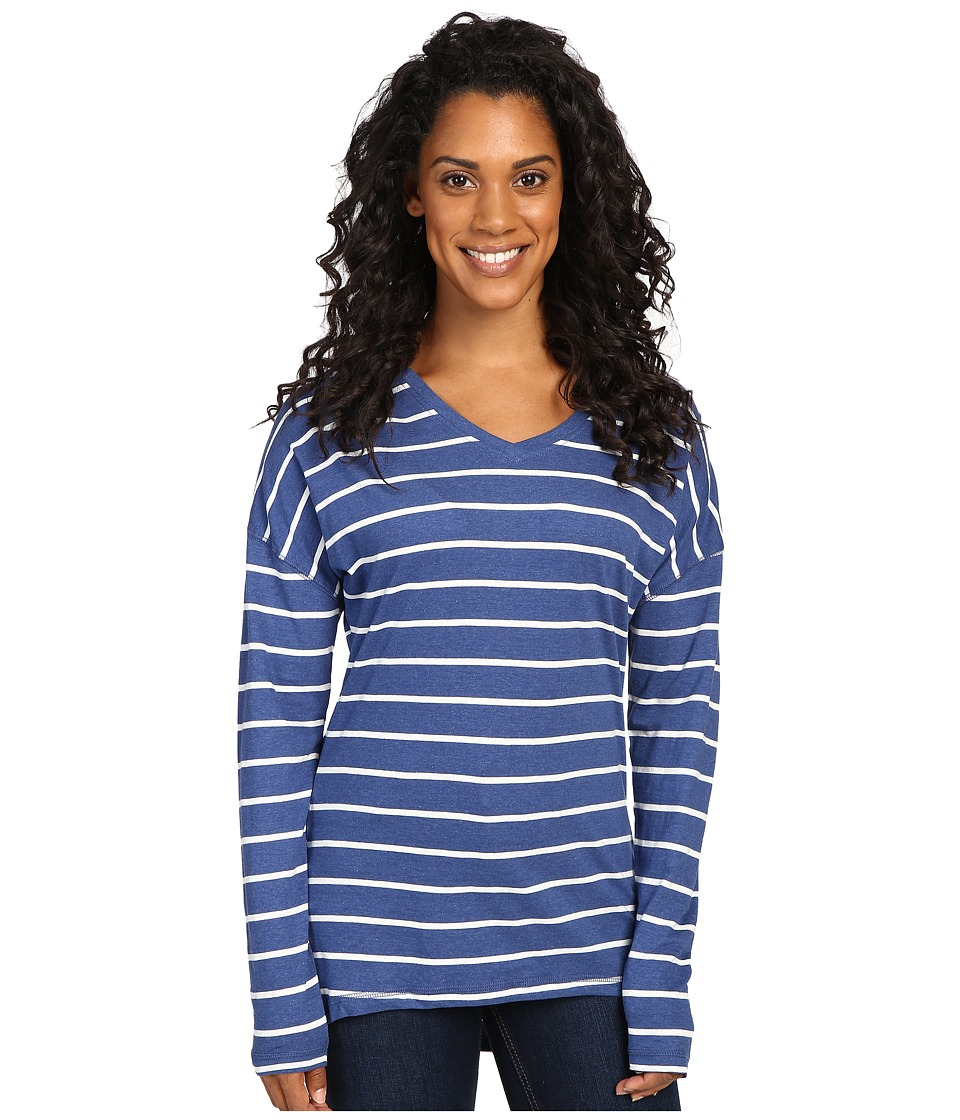 Mountain Khakis - Cora Long Sleeve Shirt (Midnight Blue) Women's Clothing