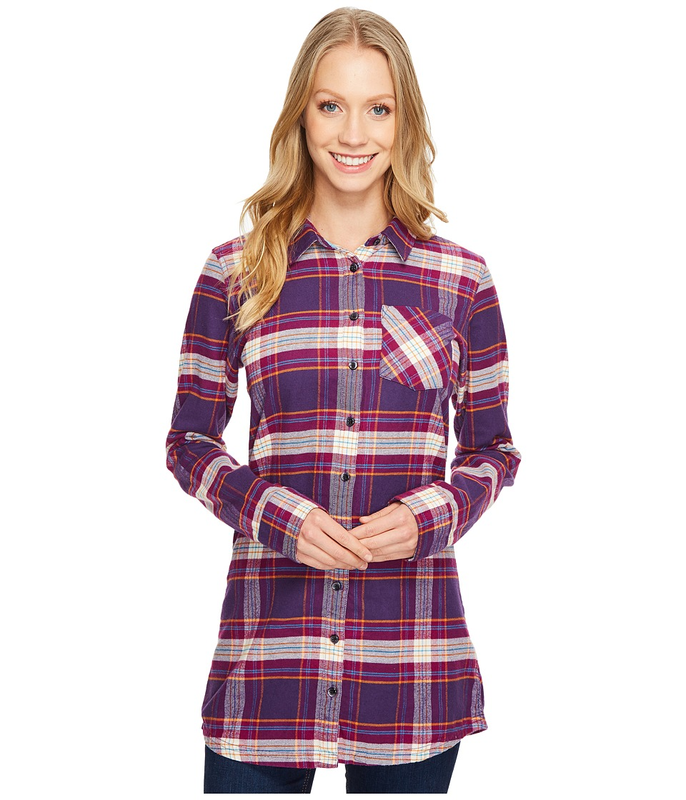 Mountain Khakis - Penny Plaid Tunic Shirt (Huckleberry) Women's Blouse