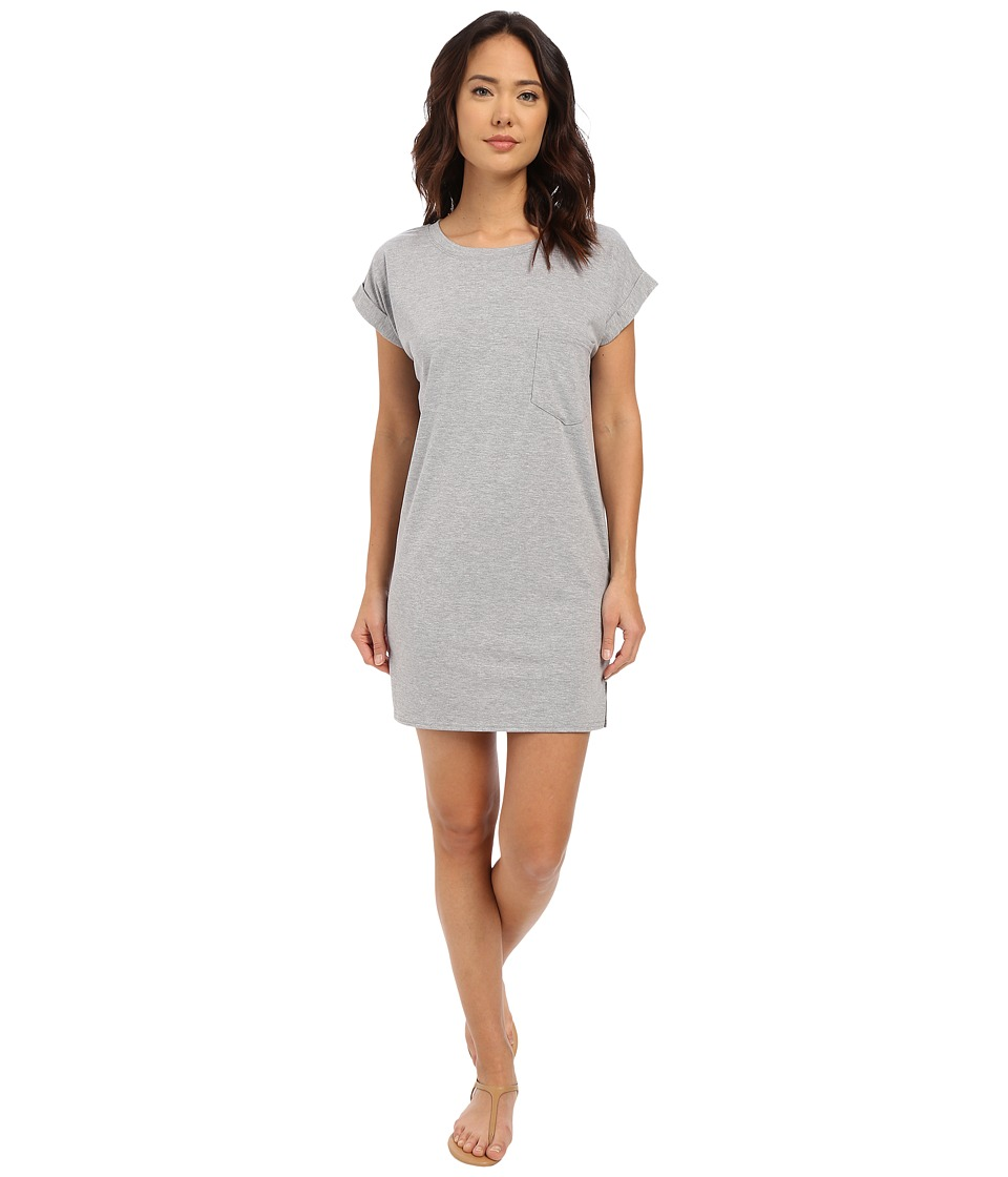 Culture Phit - Adie T-Shirt Dress with Pocket (Heather Grey) Women's Dress