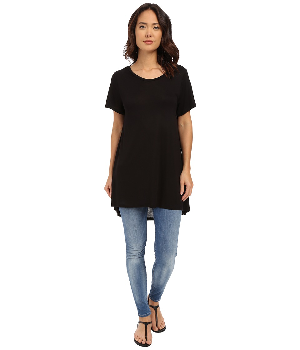 Culture Phit - Elaina Oversized T-Shirt (Black) Women's T Shirt