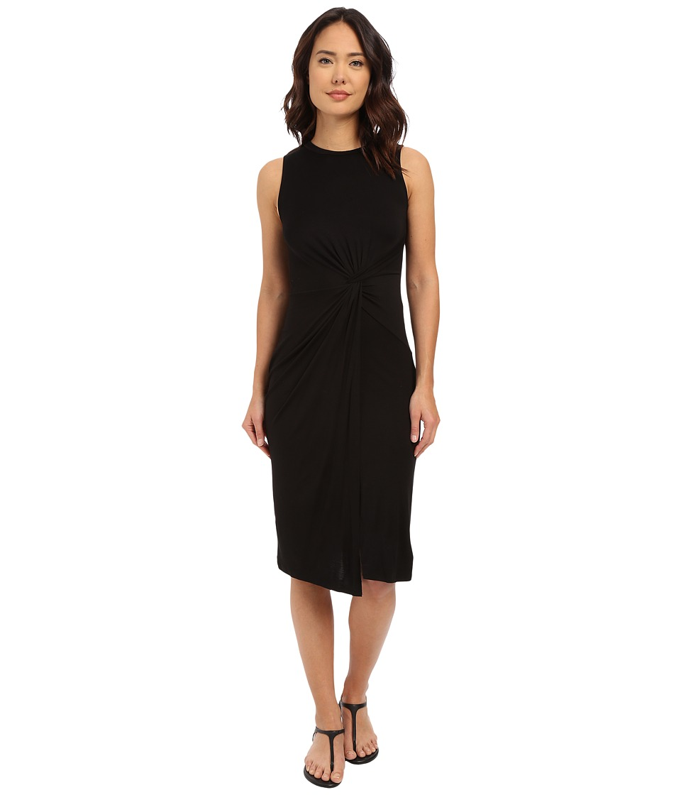 Culture Phit - Danicah Twist Front Sleeveless Dress (Black) Women's Dress