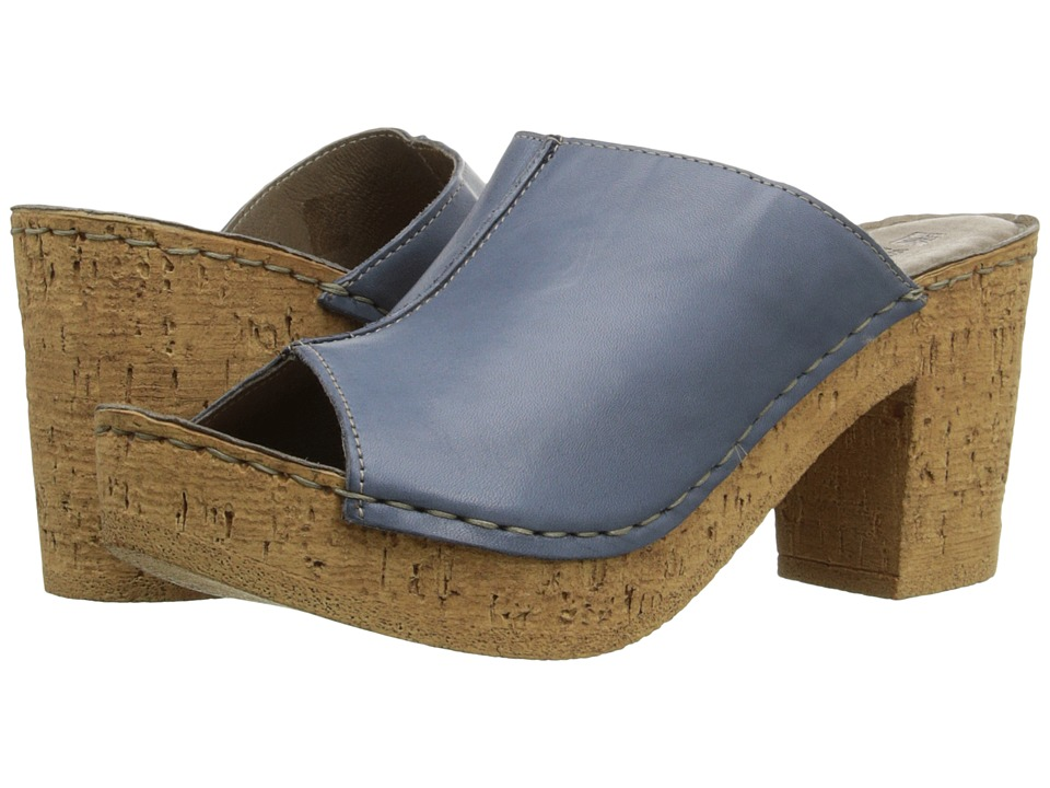 White Mountain - Bankroll (Blue) Women's Shoes