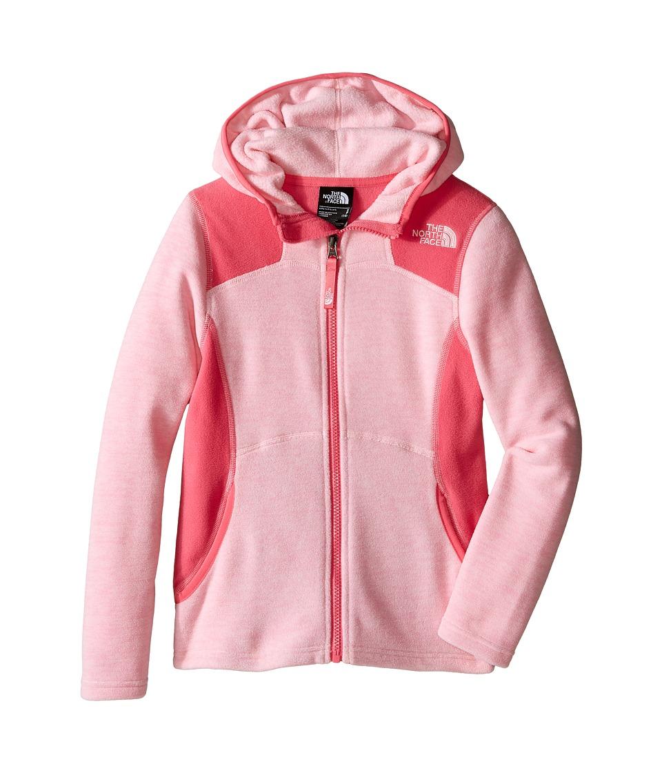The North Face Kids - Viva Fleece Hoodie (Little Kids/Big Kids) (Coy Pink Heather) Girl's Sweatshirt