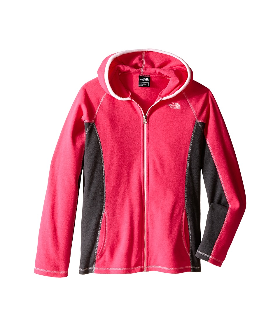 The North Face Kids - Glacier Full Zip Hoodie (Little Kids/Big Kids) (Cabaret Pink) Girl's Sweatshirt