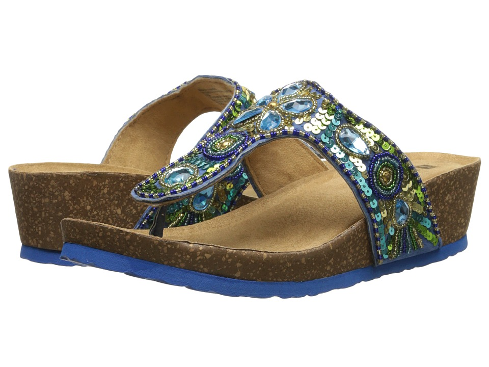 White Mountain - Brightspot (Blue Multi) Women's Shoes