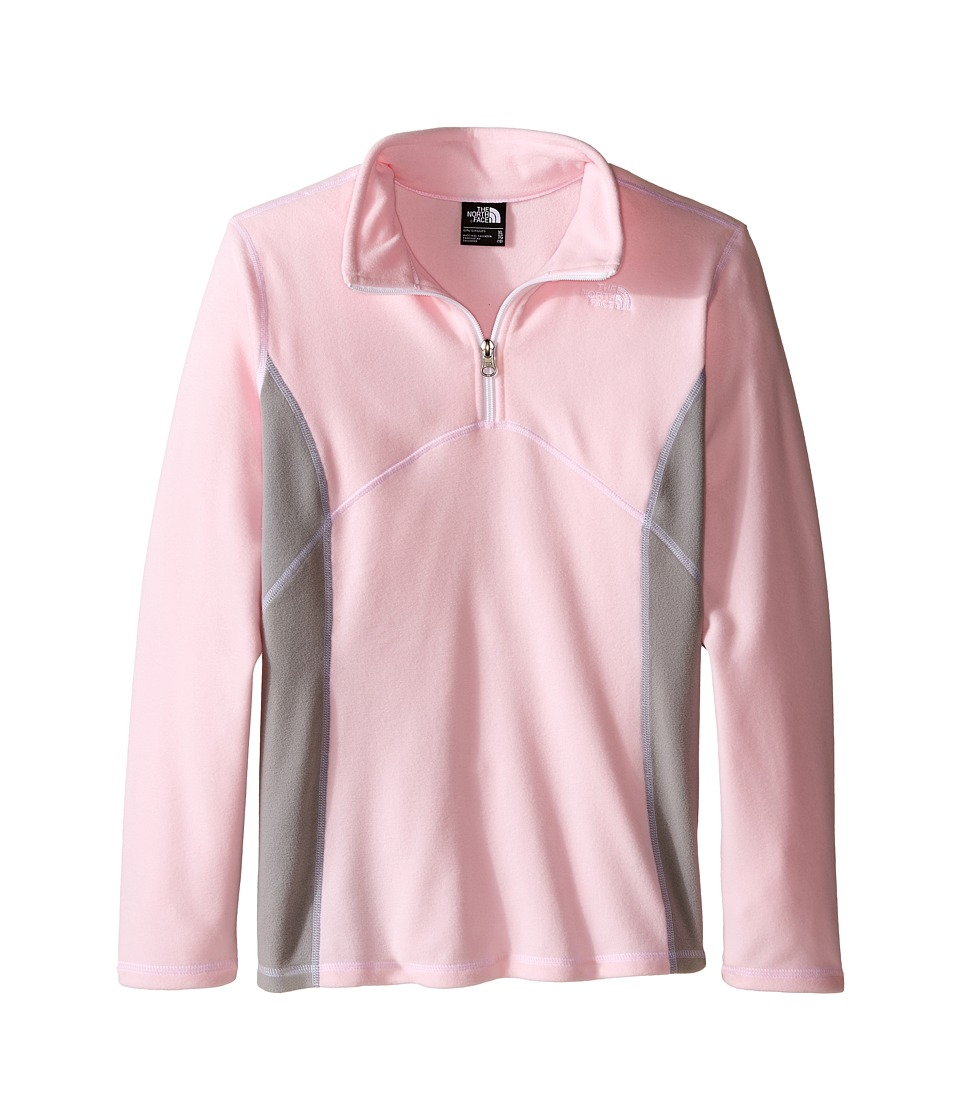 The North Face Kids - Glacier 1/4 Zip (Little Kids/Big Kids) (Coy Pink) Girl's Long Sleeve Pullover