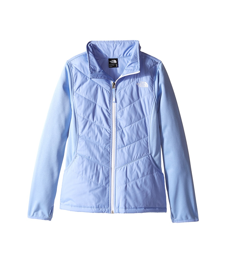 The North Face Kids - Mak Full Zip Jacket (Little Kids/Big Kids) (Grapemist Blue) Girl's Coat