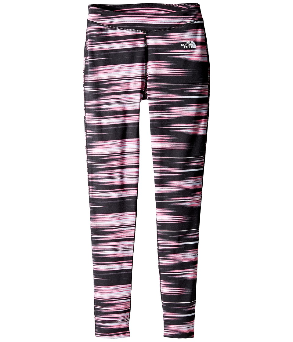 The North Face Kids - Pulse Leggings (Little Kids/Big Kids) (TNF Black Fast Stripe) Girl's Casual Pants