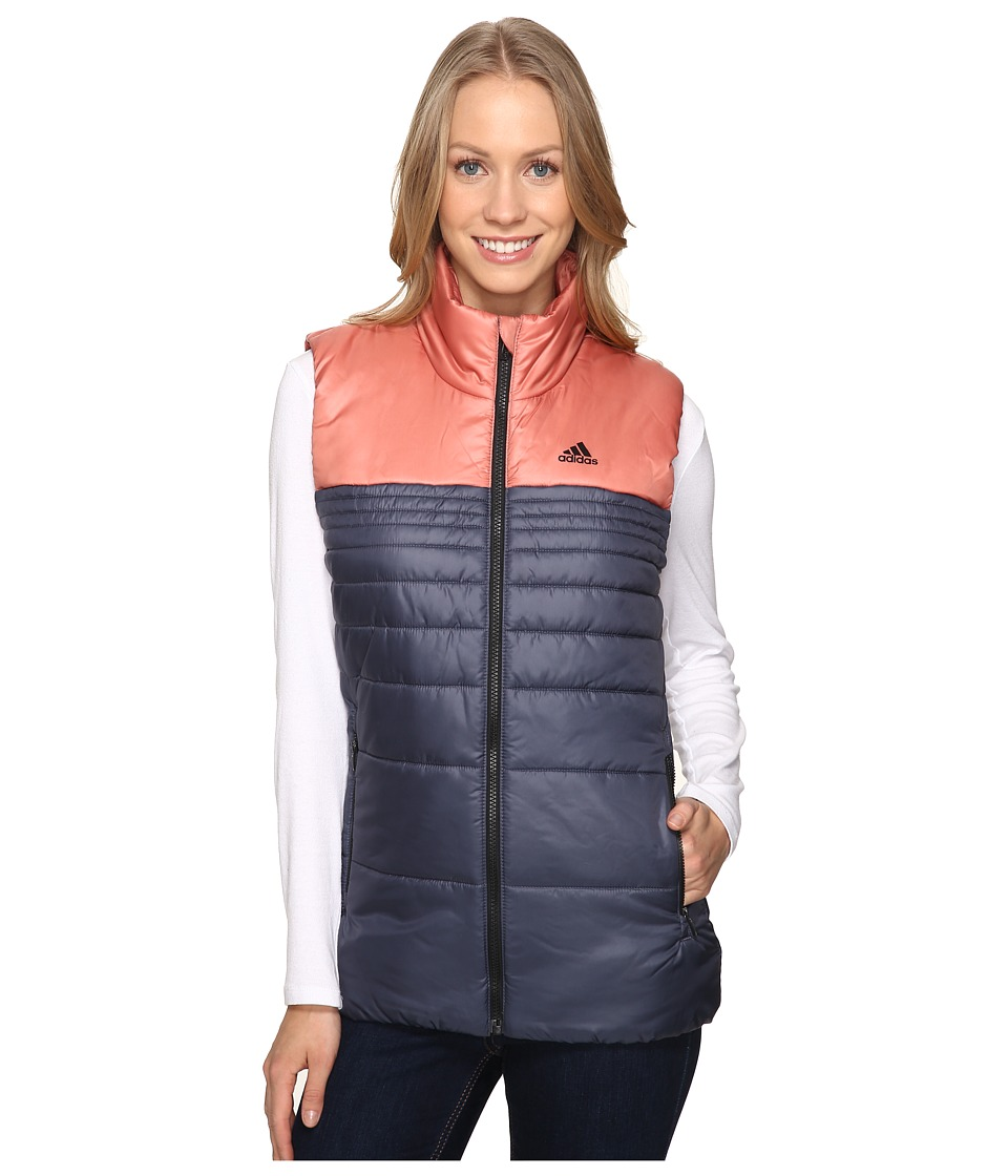 adidas Outdoor - Insulated Vest (Utility Blue/Raw Pink) Women's Vest
