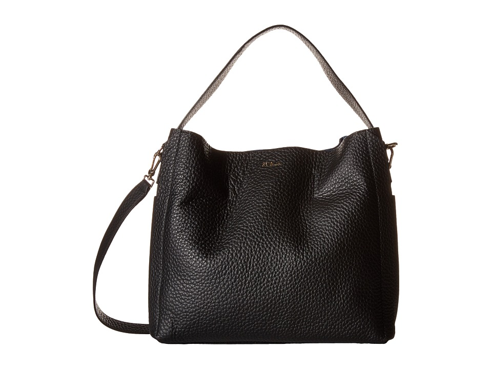 Furla - Capriccio Medium Hobo (Onyx) Hobo Handbags