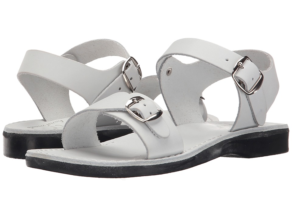 Jerusalem Sandals - The Original - Womens (White) Women's Shoes