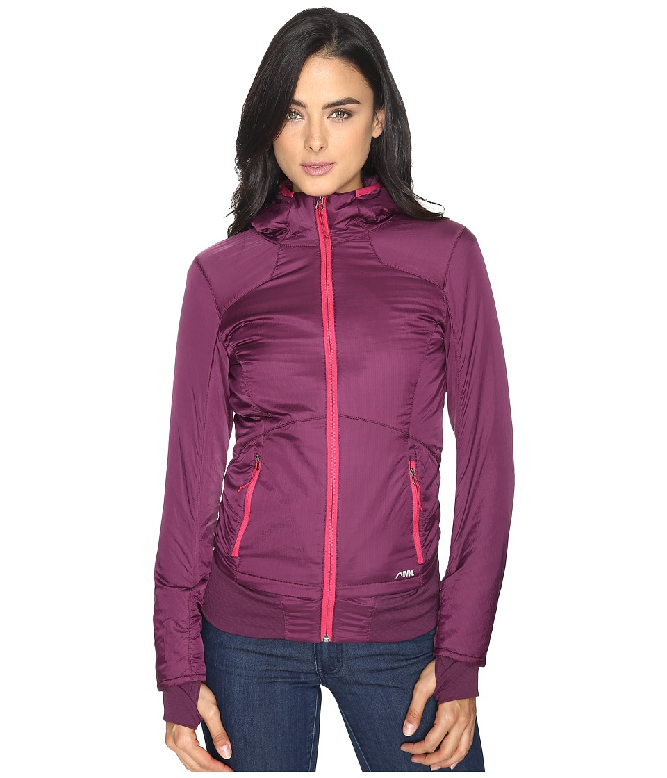 Mountain Khakis - Alpha Hooded Jacket (Blackberry) Women's Coat