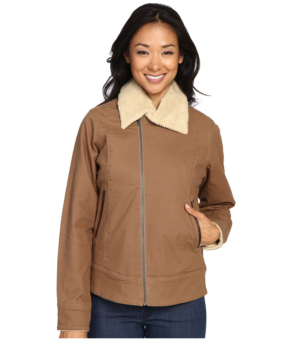 Mountain Khakis - Ranch Shearling Jacket (Tobacco) Women's Coat