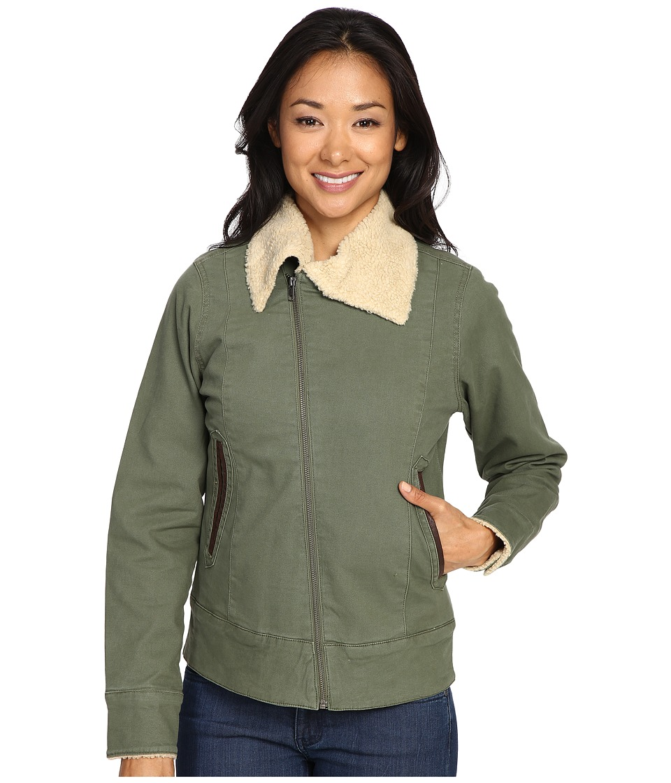 Mountain Khakis - Ranch Shearling Jacket (Olive Drab) Women's Coat