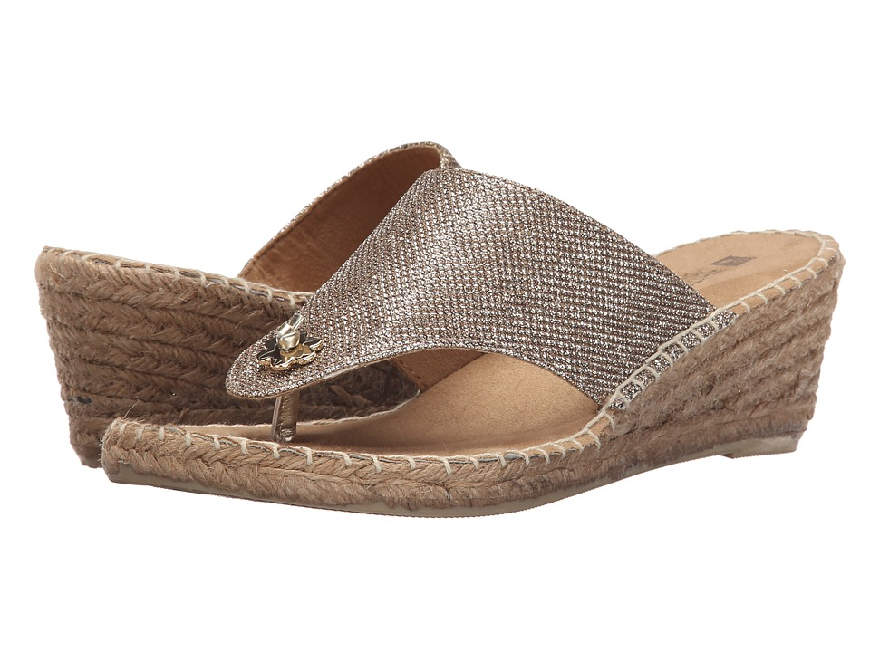 White Mountain - Baywatch (Light Gold Glitter) Women
