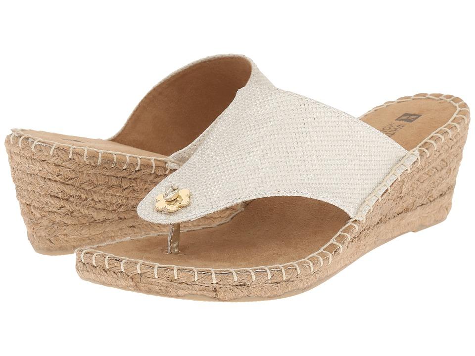 White Mountain - Baywatch (White Glitter) Women's Shoes