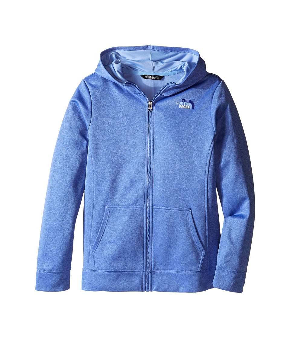 The North Face Kids - Surgent Full Zip Hoodie (Little Kids/Big Kids) (Stellar Blue Heather) Girl's Sweatshirt