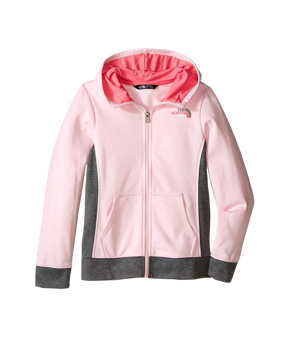 The North Face Kids - Surgent Full Zip Hoodie (Little Kids/Big Kids) (Coy Pink) Girl's Sweatshirt