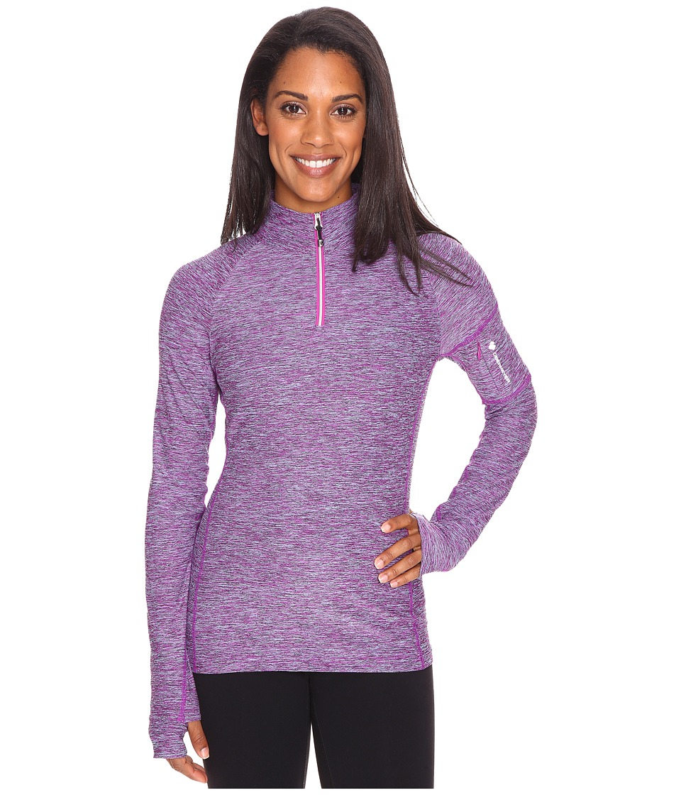 Obermeyer - Nora Baselayer Zip Top (Violet Vibe) Women's Clothing