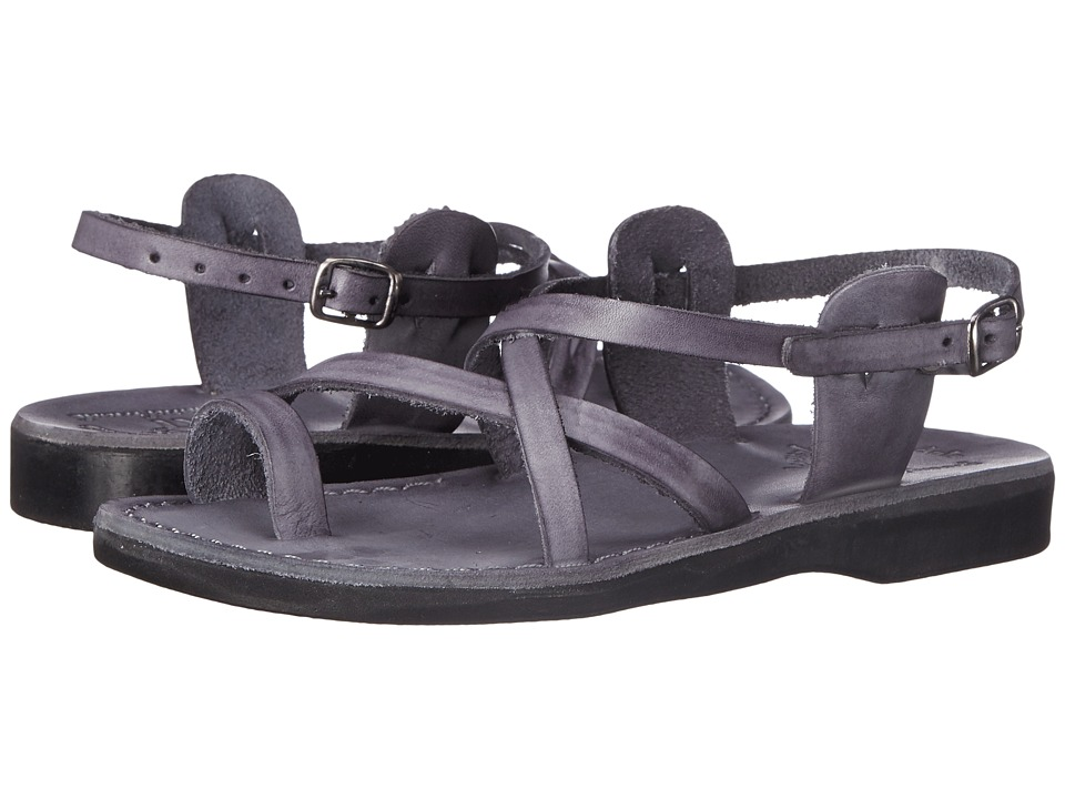 Jerusalem Sandals - The Good Shepherd Buckle - Womens (Gray) Women's Shoes