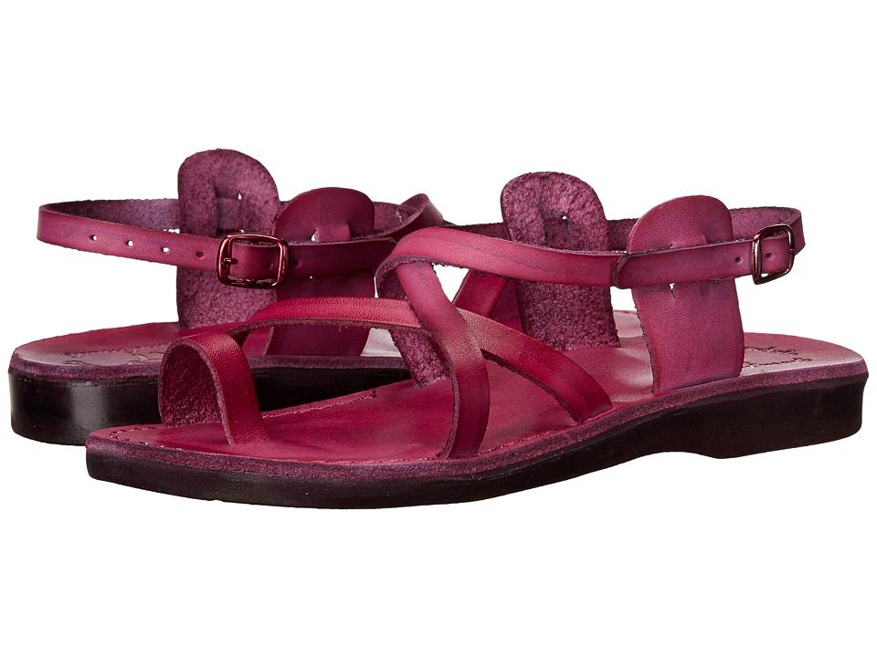 Jerusalem Sandals - The Good Shepherd Buckle - Womens (Violet) Women's Shoes
