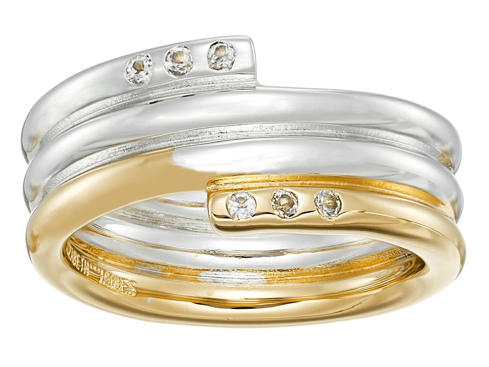 Elizabeth and James - Leda Ring (Yellow Gold/Silver) Ring