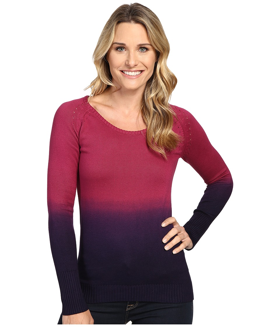 Mountain Khakis - Darby Dip Dyed Sweater (Hollyhock) Women's Sweater