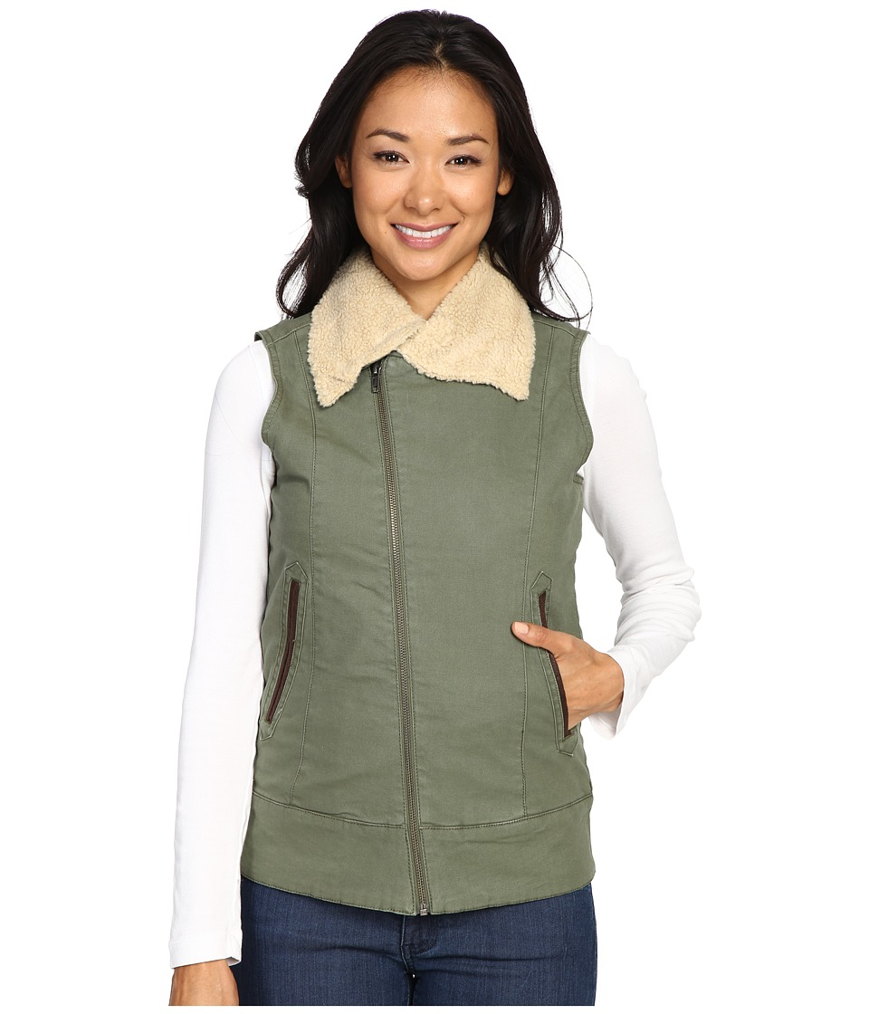 Mountain Khakis - Ranch Shearling Vest (Olive Drab) Women's Vest