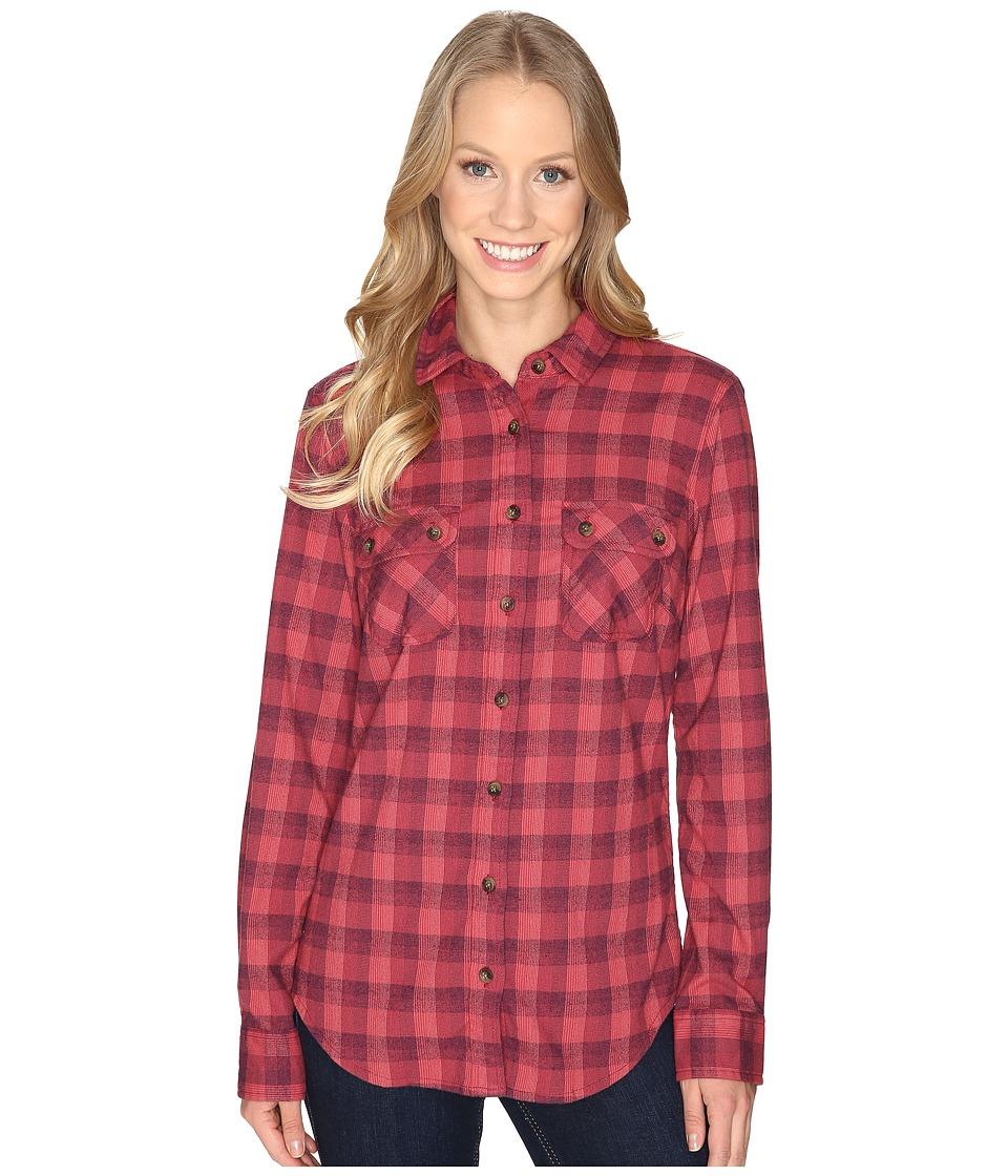 Mountain Khakis Peaks Flannel Shirt (Dusty Rose) Women