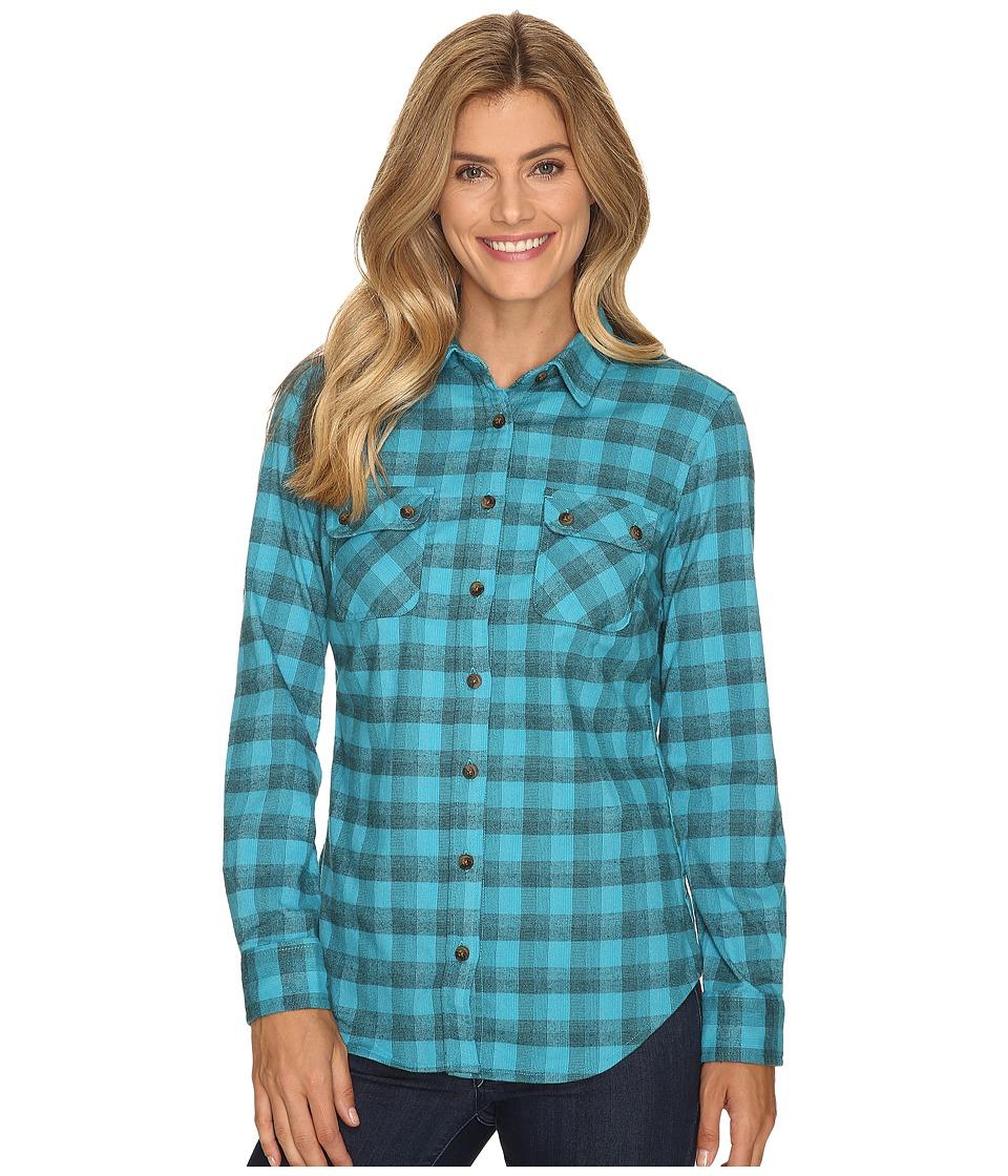 Mountain Khakis Peaks Flannel Shirt (Bermuda) Women