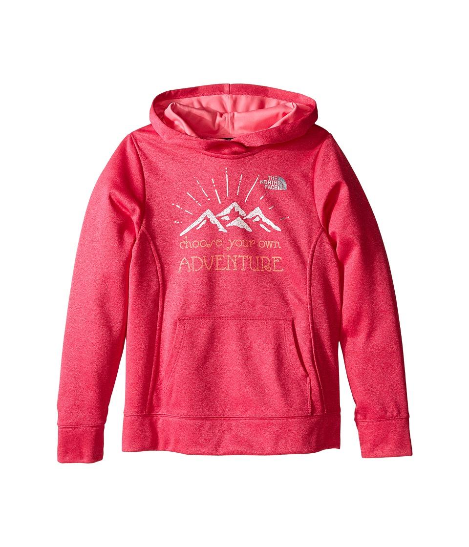 The North Face Kids - Surgent Pullover Hoodie (Little Kids/Big Kids) (Cabaret Pink Heather) Girl's Sweatshirt