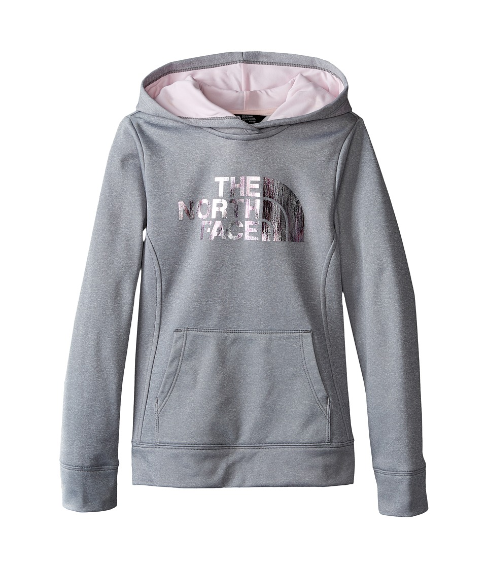 The North Face Kids - Surgent Pullover Hoodie (Little Kids/Big Kids) (TNF Light Grey Heather) Girl's Sweatshirt