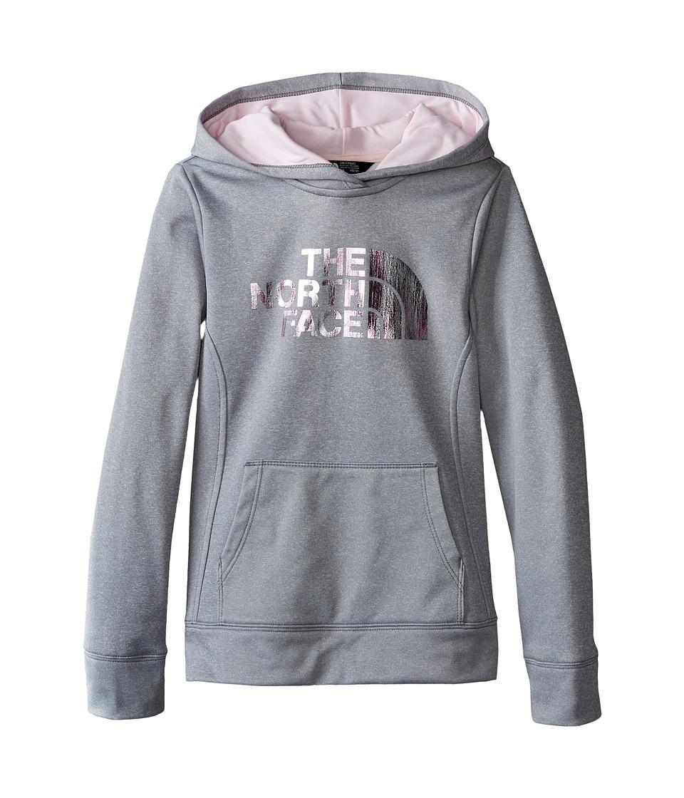 The North Face Kids - Surgent Pullover Hoodie (Little Kids/Big Kids) (TNF Light Grey Heather) Girl's Sweatshirt