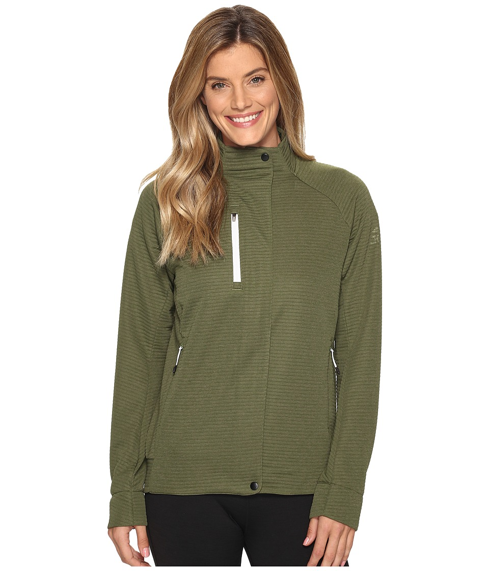 adidas Outdoor - Everyhike Fleece (Craft Green) Women's Coat