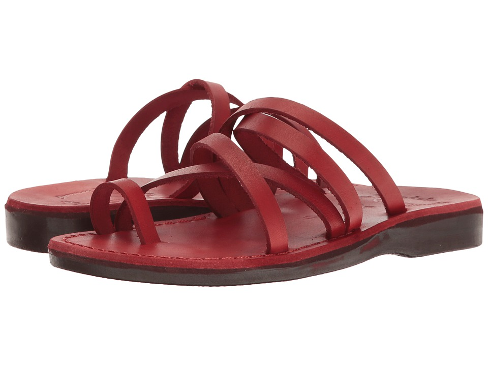 Jerusalem Sandals - Ariel - Womens (Red) Women's Shoes