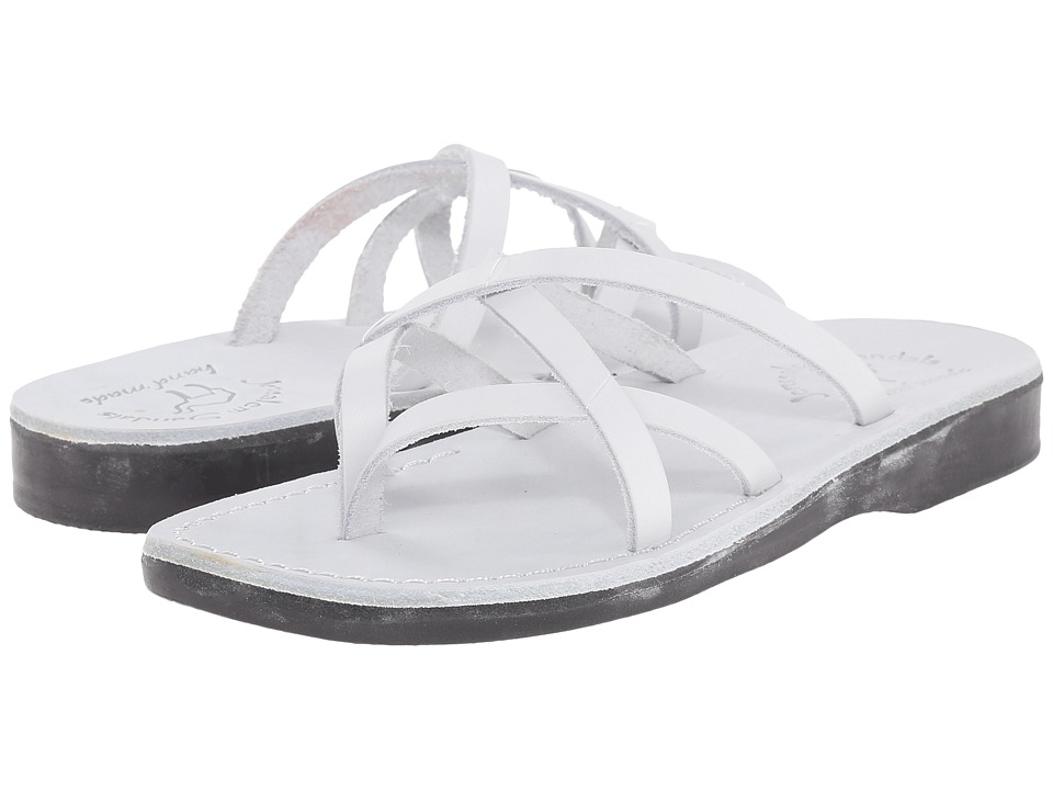 Jerusalem Sandals - Tamar - Womens (White) Women's Shoes