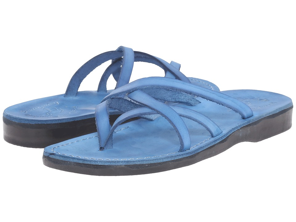 Jerusalem Sandals - Tamar - Womens (Blue) Women's Shoes