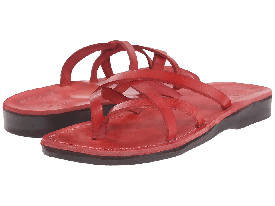 Jerusalem Sandals - Tamar - Womens (Red) Women's Shoes
