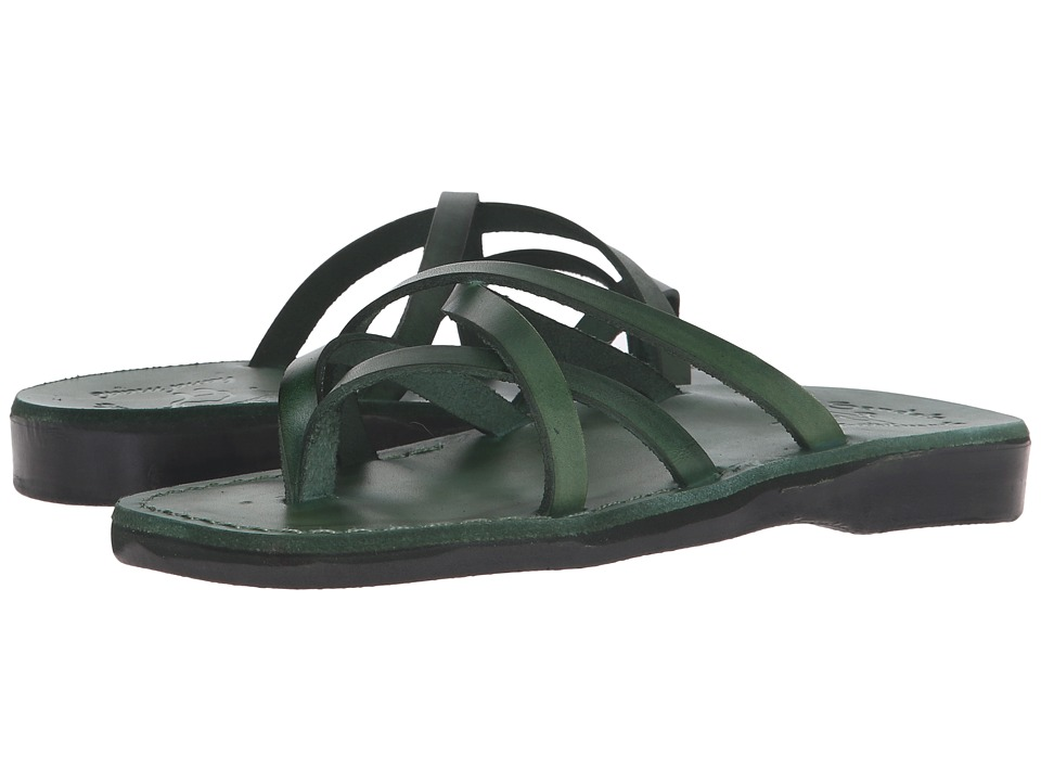 Jerusalem Sandals - Tamar - Womens (Green) Women's Shoes