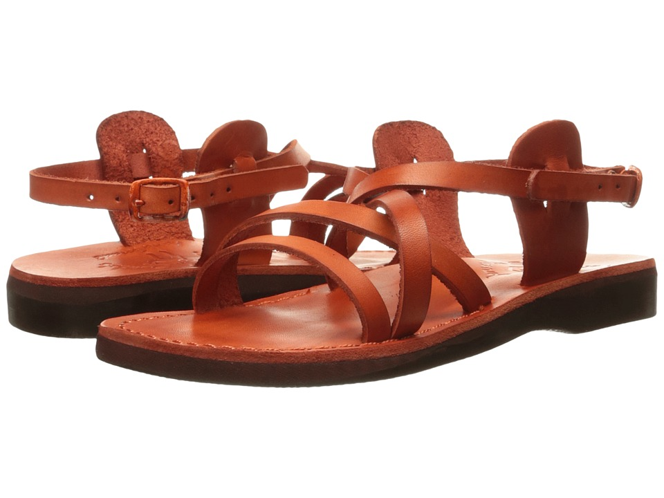 Jerusalem Sandals - Tzippora - Womens (Orange) Women's Shoes