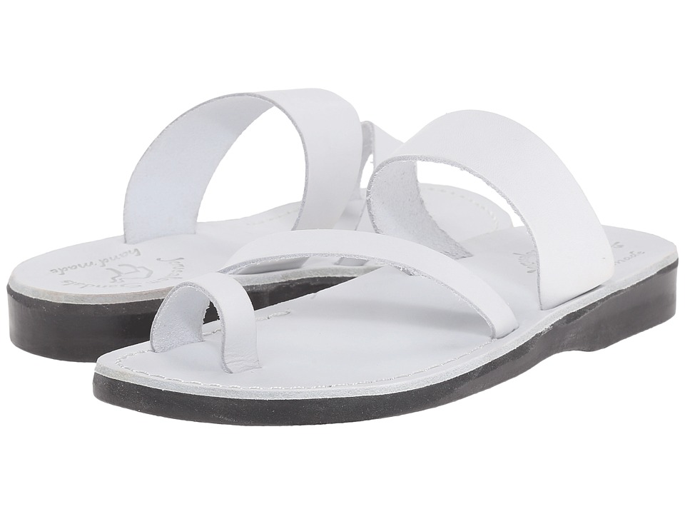 Jerusalem Sandals - Zohar - Womens (White) Women's Shoes
