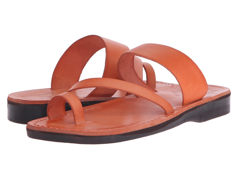 Jerusalem Sandals - Zohar - Womens (Orange) Women's Shoes