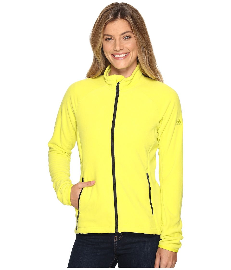 adidas Outdoor - Reachout Jacket (Shock Slime) Women's Coat