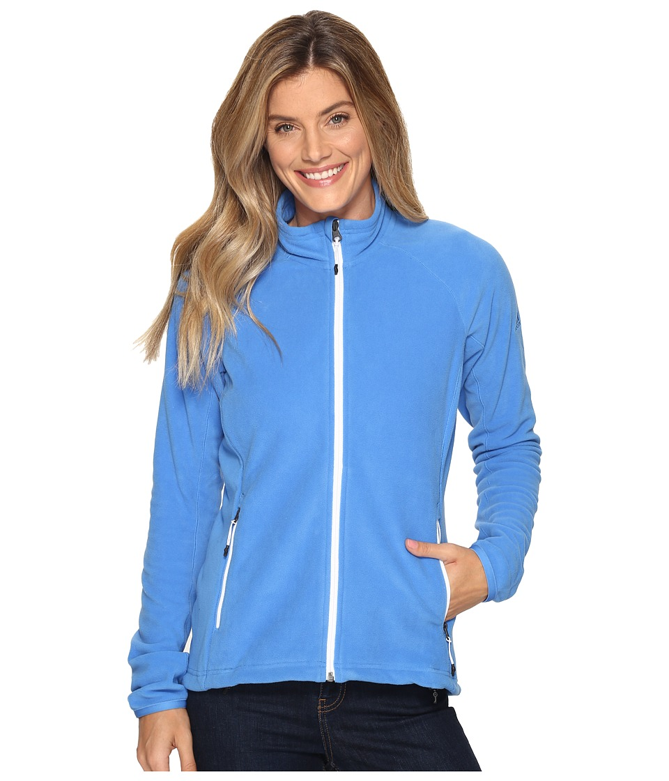 adidas Outdoor - Reachout Jacket (Ray Blue) Women's Coat