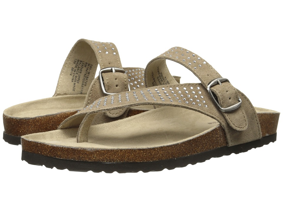 White Mountain - Coaster (Taupe Suede) Women's Shoes