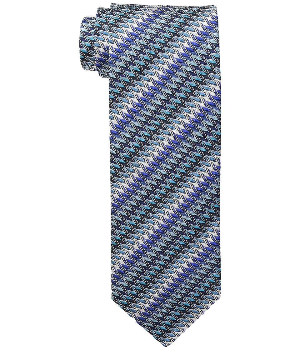 Missoni - CRB8SEU5298 (Blue/Aqua) Ties