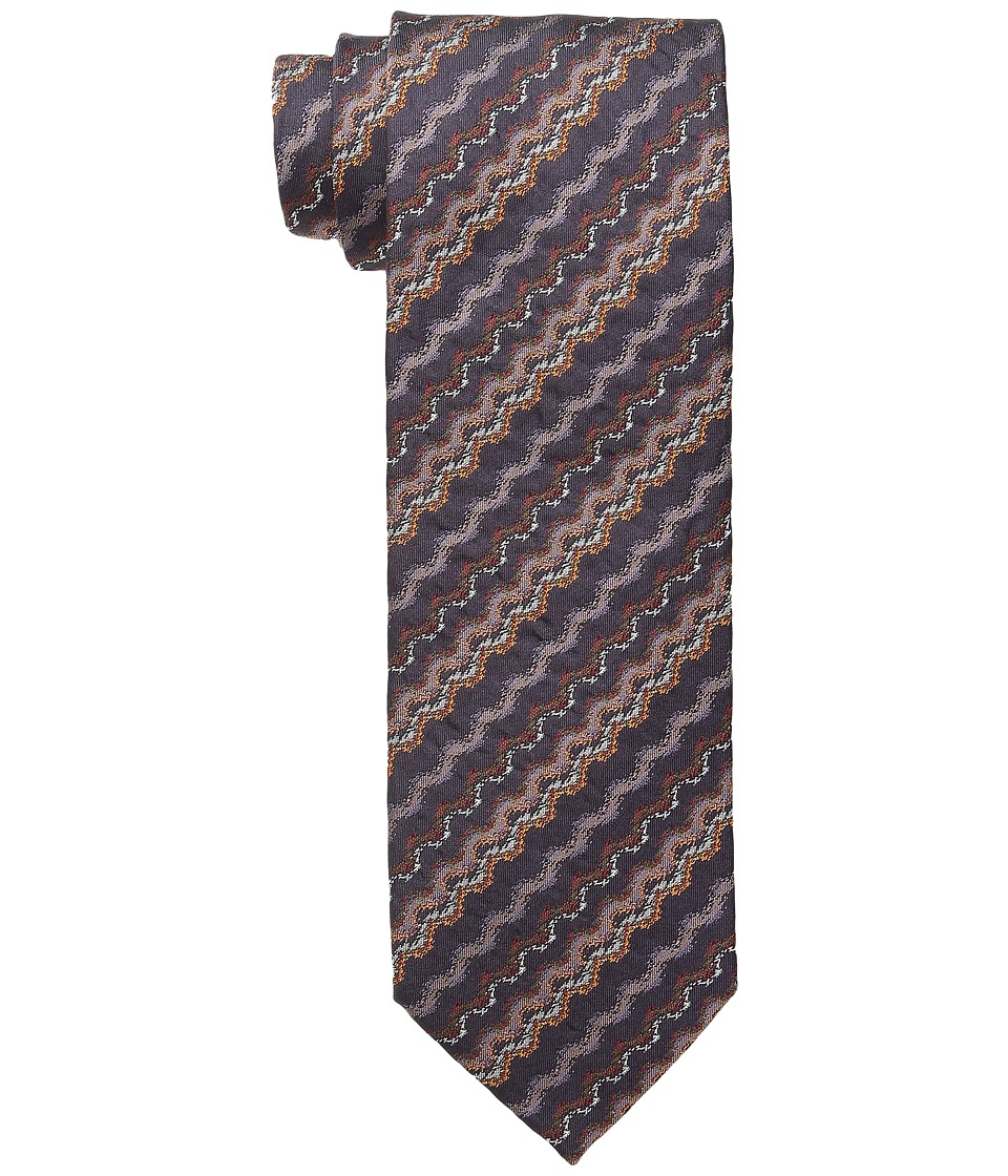 Missoni - CRB8SEU5302 (Brown/Orange) Ties