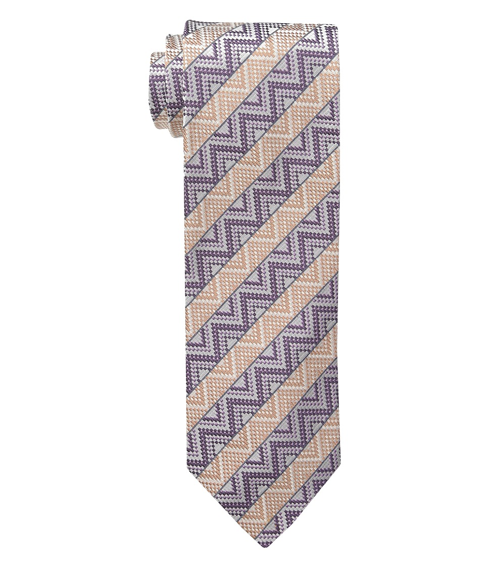 Missoni - CRB8SEU5306 (Grey/Purple) Ties