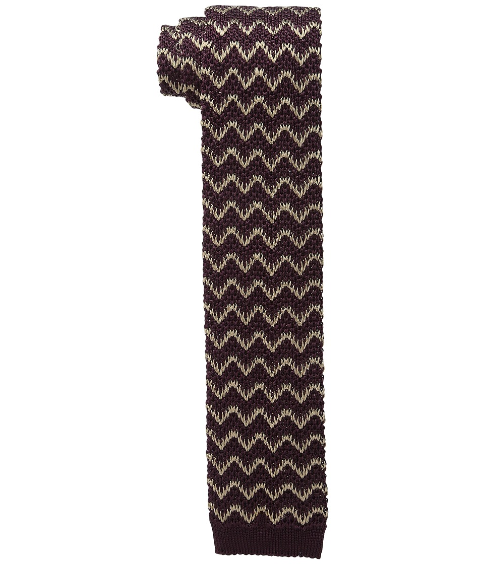 Missoni - CR2TSEU5344 (Burgundy) Ties
