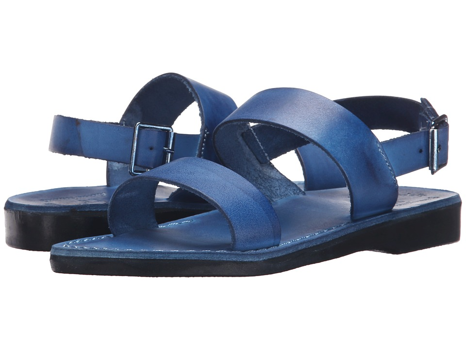 Jerusalem Sandals - Golan - Womens (Blue) Women's Shoes